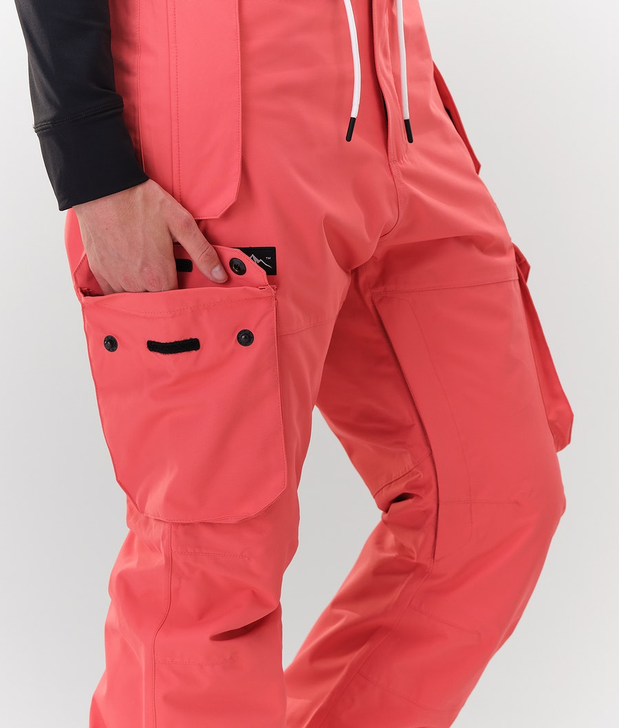 Dope Iconic W Women's Snowboard Pants Coral