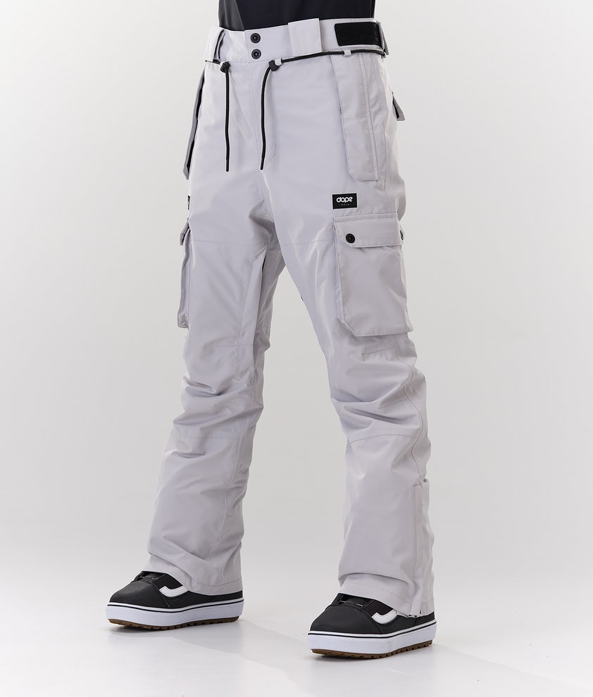 Dope Iconic W Snowboardbukse Light Grey