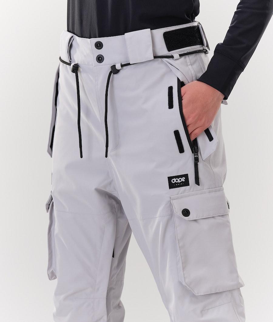 Dope Iconic W Women's Snowboard Pants Light Grey