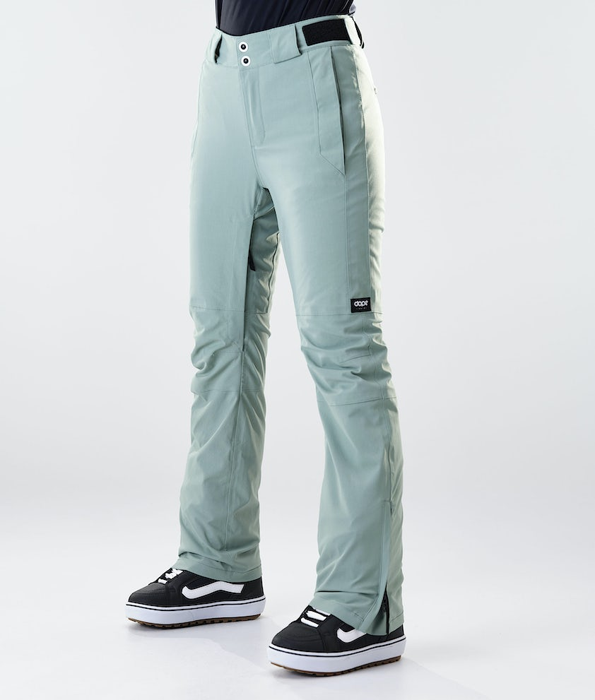 Dope Con Snowboard Pants Faded Green