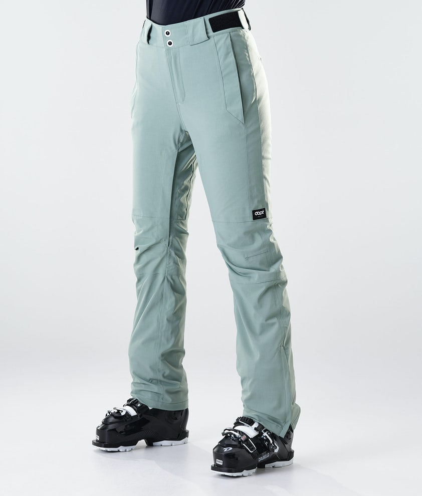 Dope Con Ski Pants Faded Green