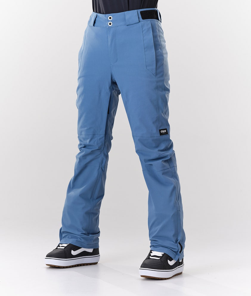 Dope Con Snowboard Pants Blue steel