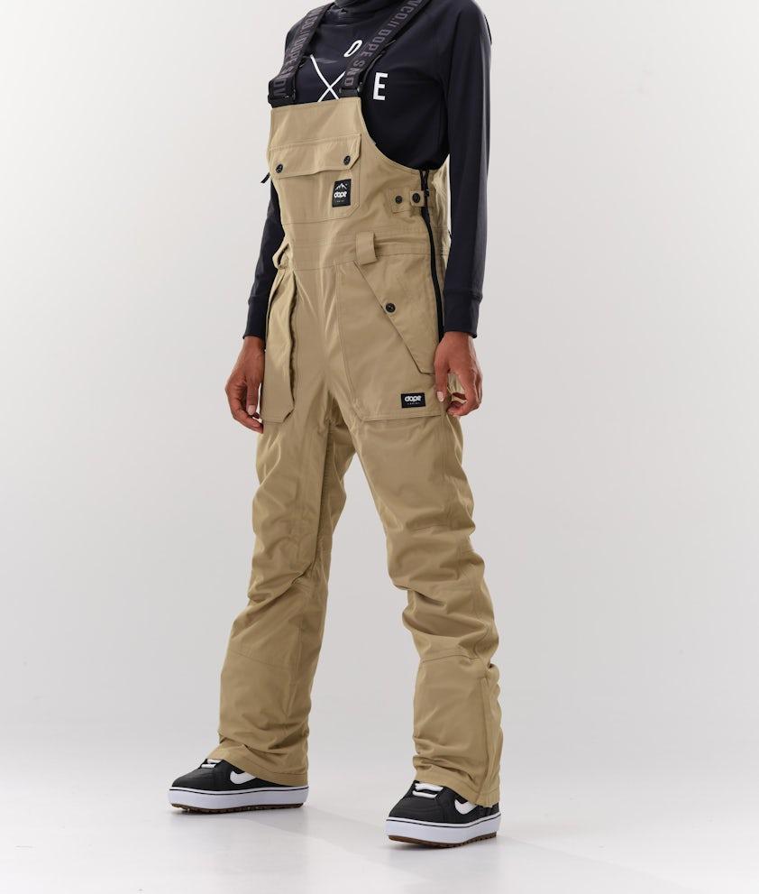 Dope Notorious B.I.B W Snowboard Pants Khaki