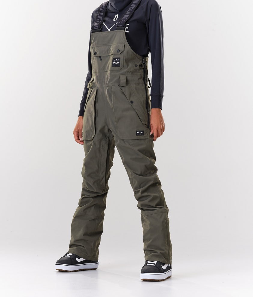 Dope Notorious B.I.B W Snowboard Pants Olive Green