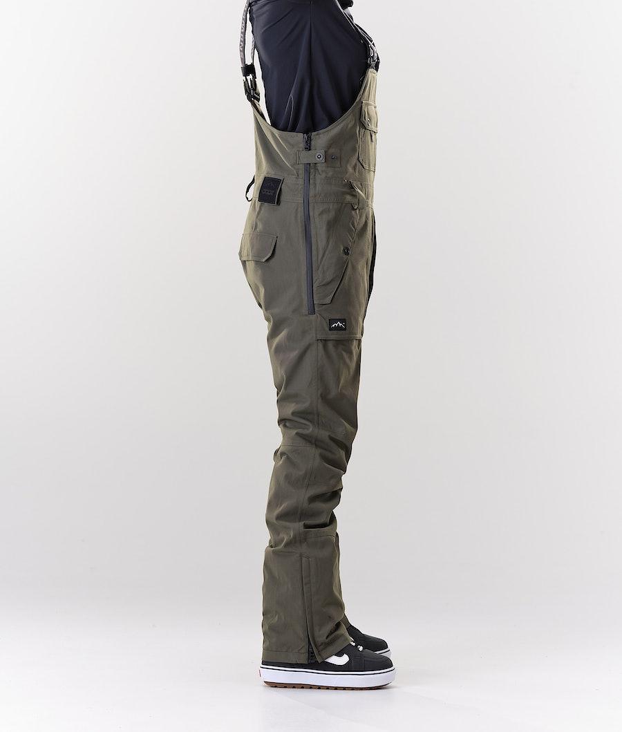 Dope Notorious B.I.B W Women's Snowboard Pants Olive Green
