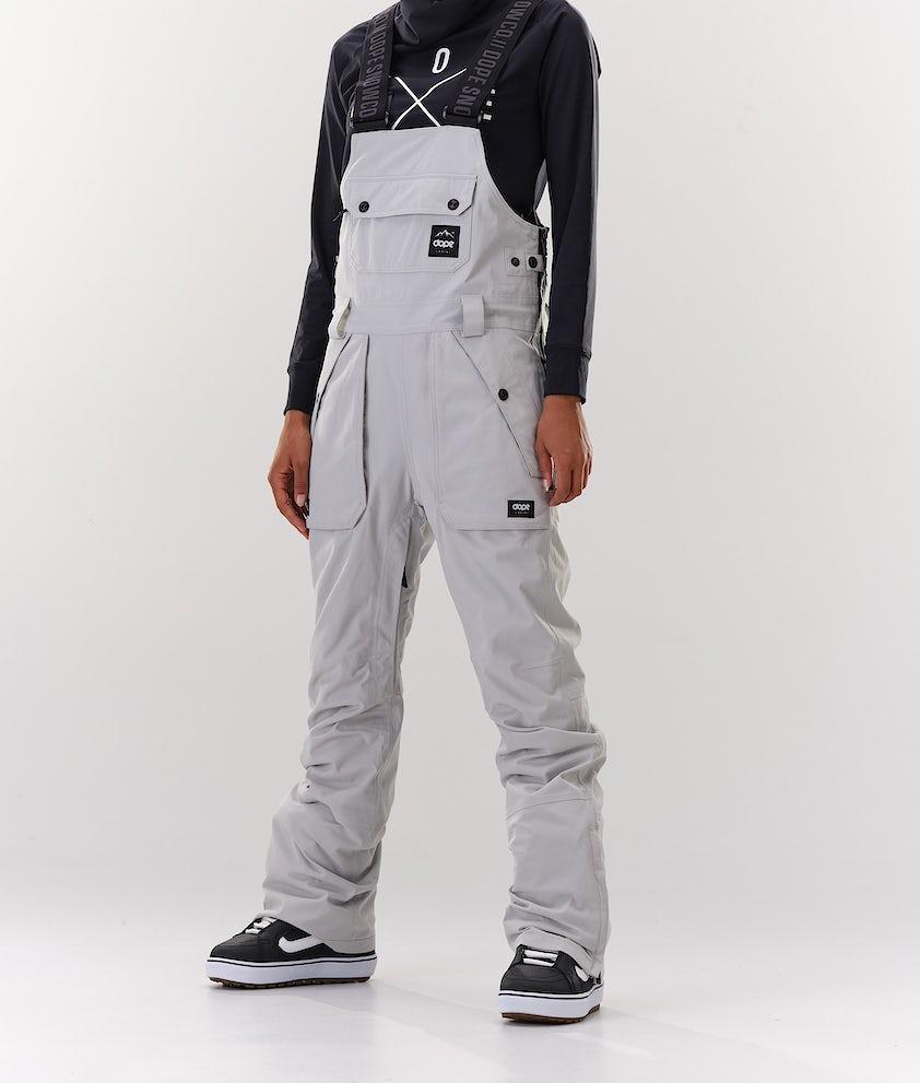 Dope Notorious B.I.B W Snowboardhose Light grey