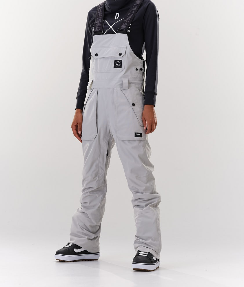 Dope Notorious B.I.B W Snowboard Pants Light grey