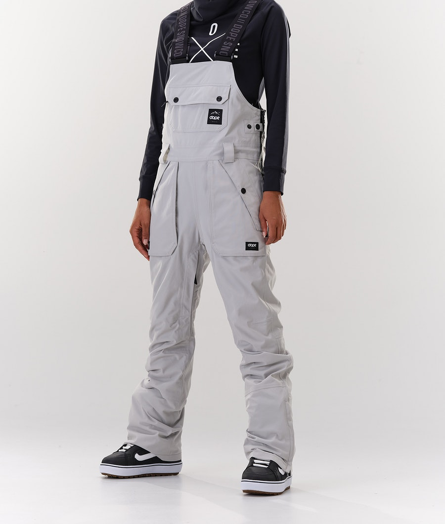 Dope Notorious B.I.B W Snowboard Pants Light grey