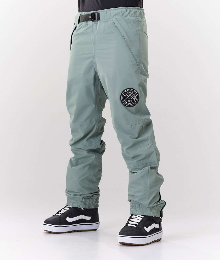 Dope Blizzard W Pantalon de Snowboard Faded  Green