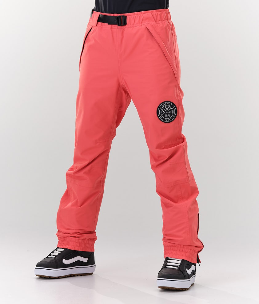 Dope Blizzard W Snowboard Pants Coral