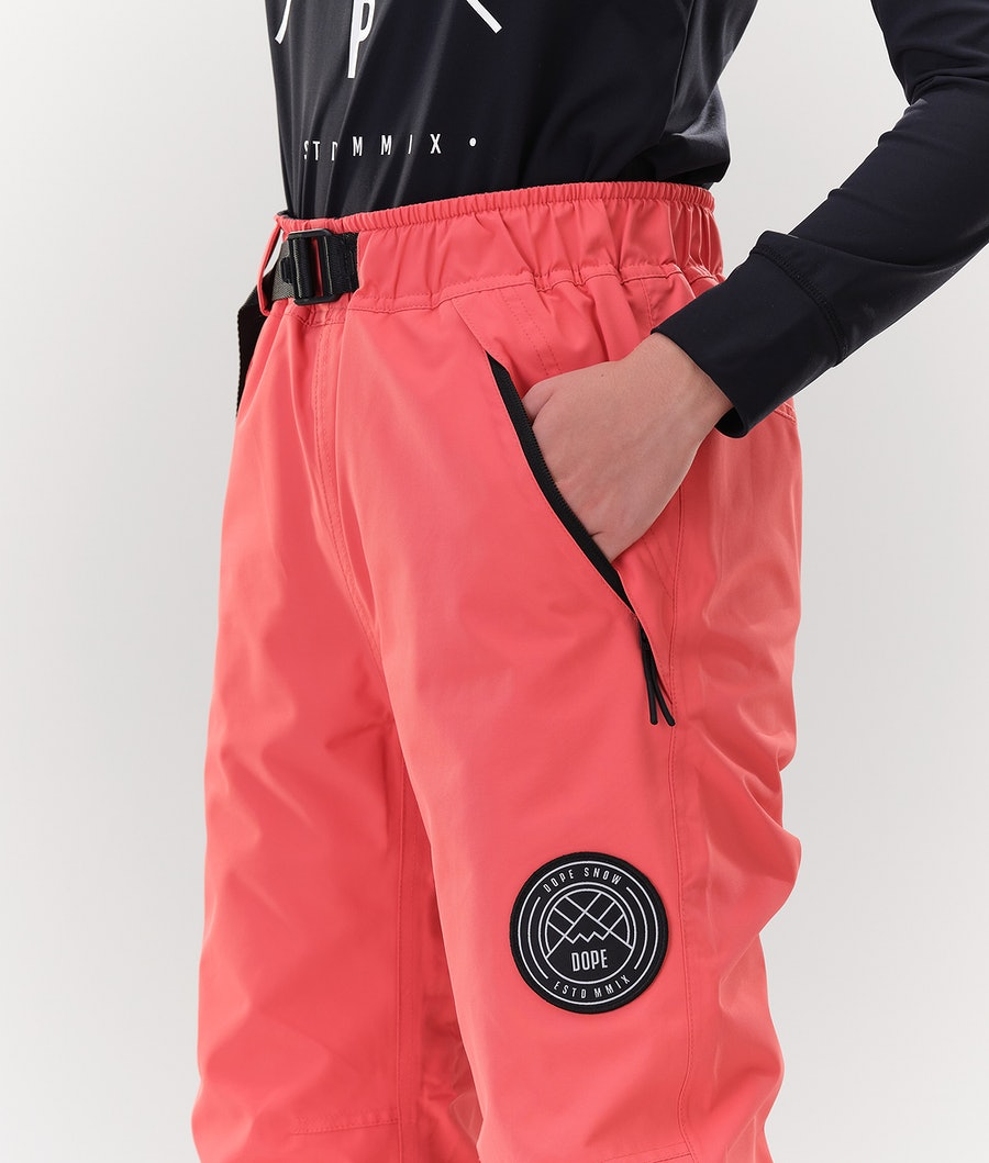 Dope Blizzard W Women's Snowboard Pants Coral