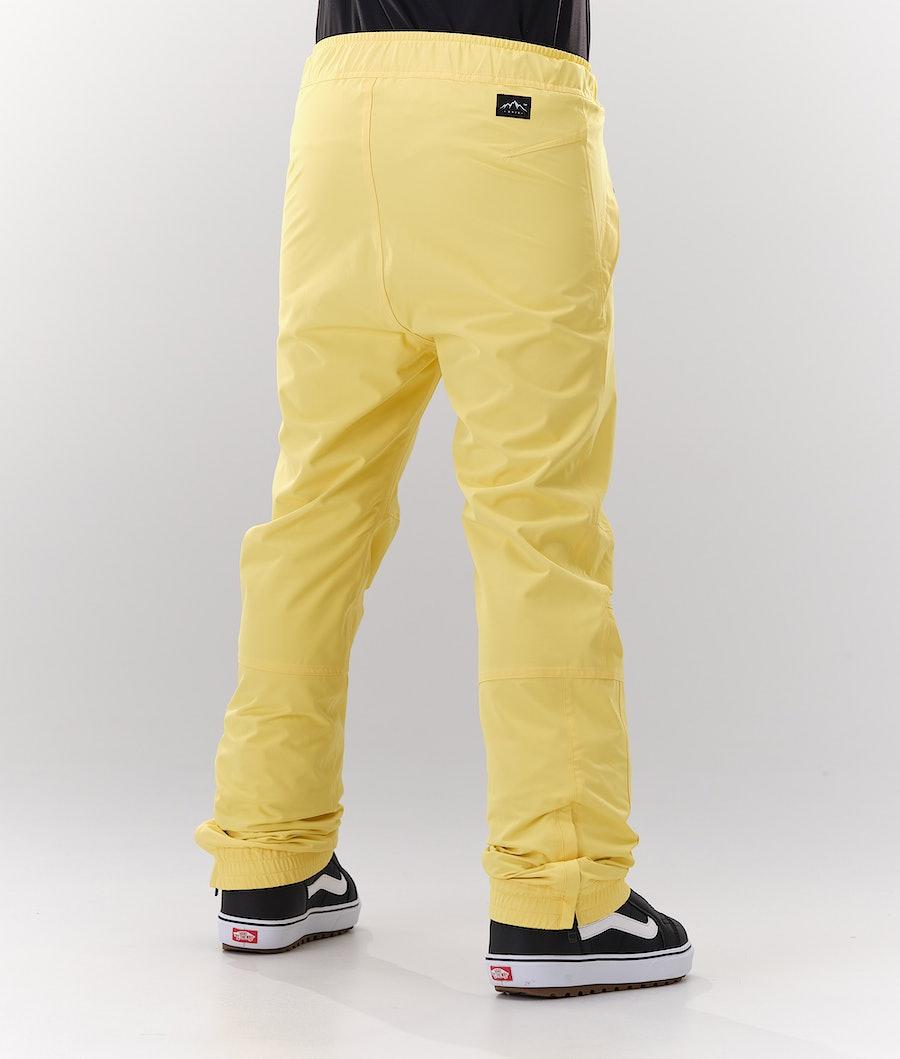 Dope Blizzard W Snowboardbukse Dame Faded Yellow