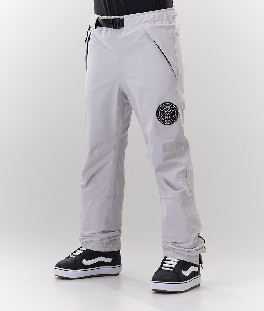 Dope Blizzard W Snowboard Pants Light Grey