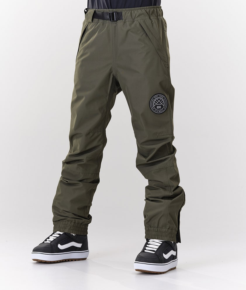 Dope Blizzard W Snowboard Pants Olive Green