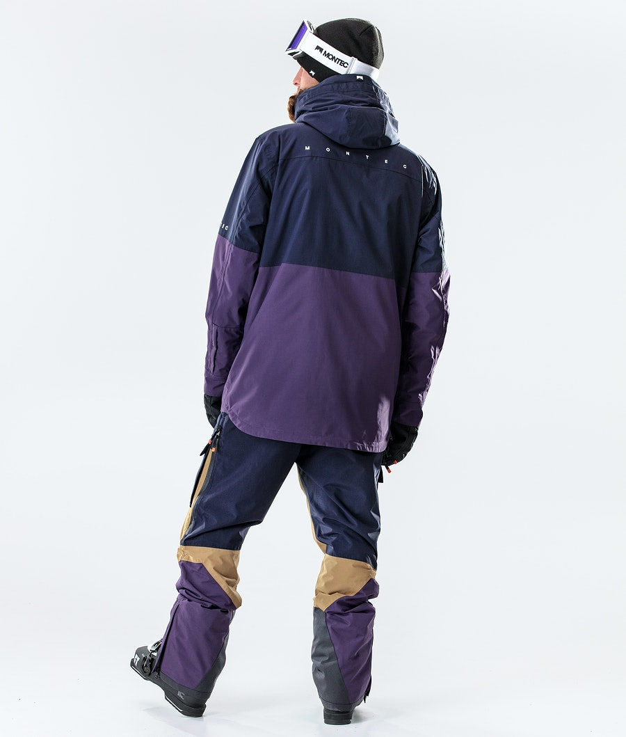Montec Dune Skidjacka Marine/Gold/Purple