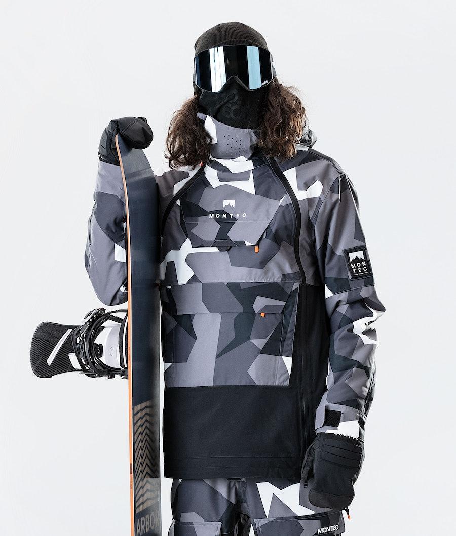Montec Doom Snowboard Jacket Arctic Camo/Black
