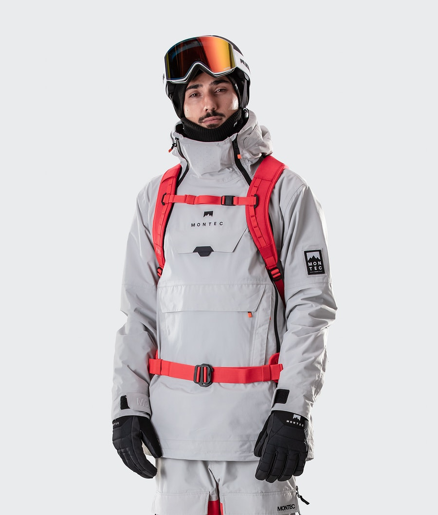 Montec Doom Veste de Snowboard Light Grey
