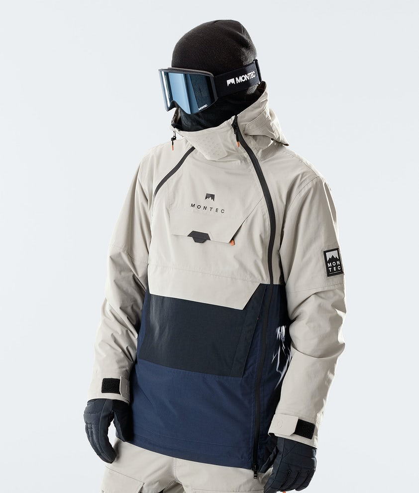 Montec Doom Snowboard Jacket Sand/Black/Marine