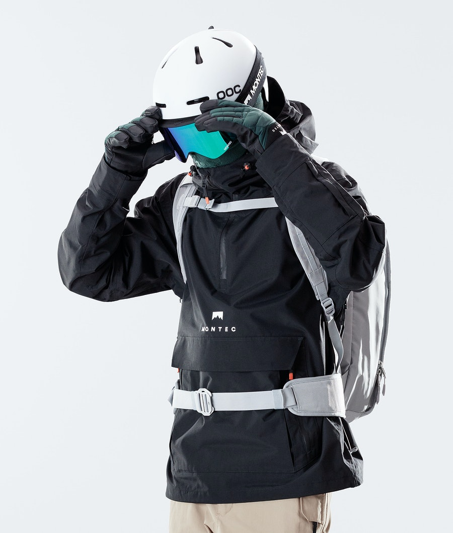 Montec Typhoon Ski Jacket Black