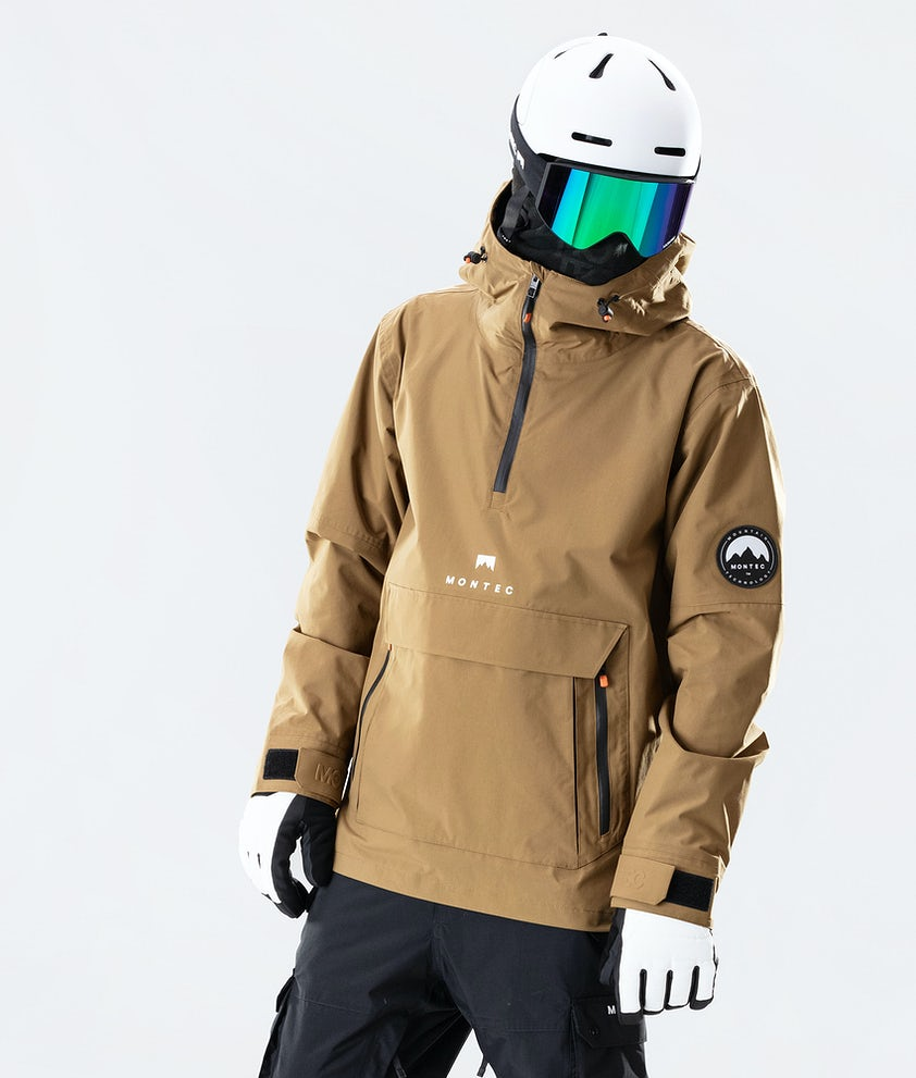 Montec Typhoon Snowboardjakke Gold