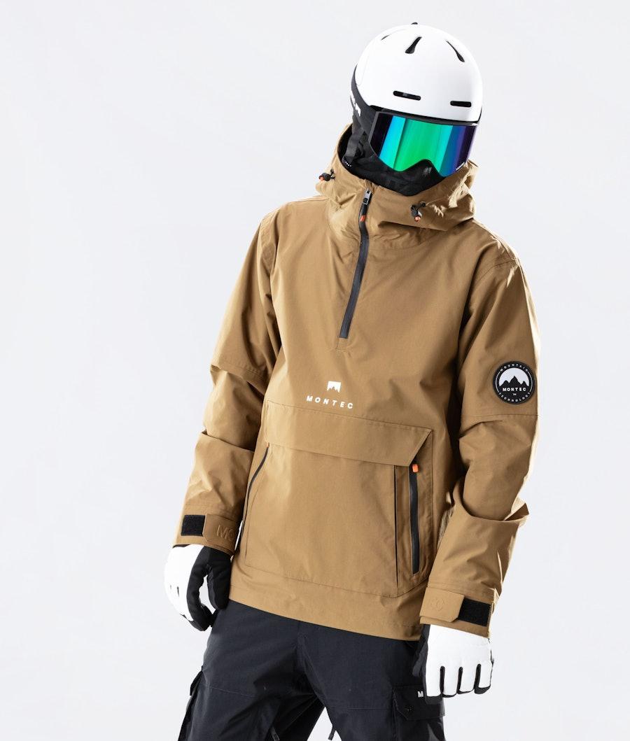 Montec Typhoon Veste de Snowboard Gold