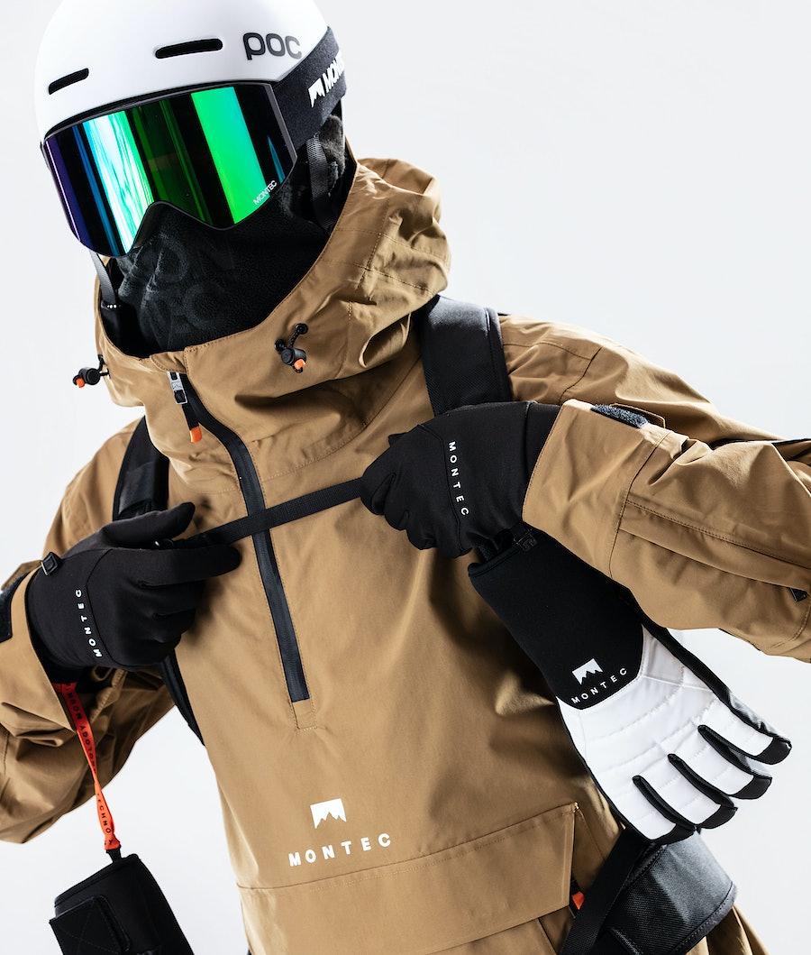 Montec Typhoon Snowboard jas Gold