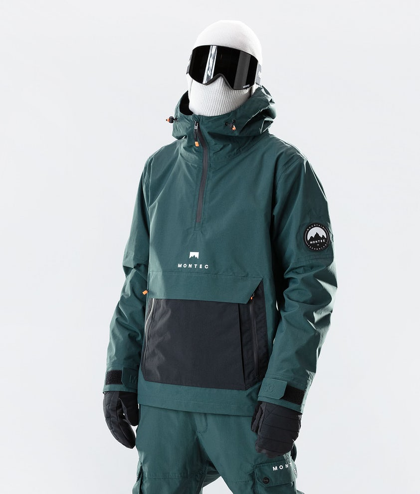 Montec Typhoon Snowboardjakke Dark Atlantic/Black