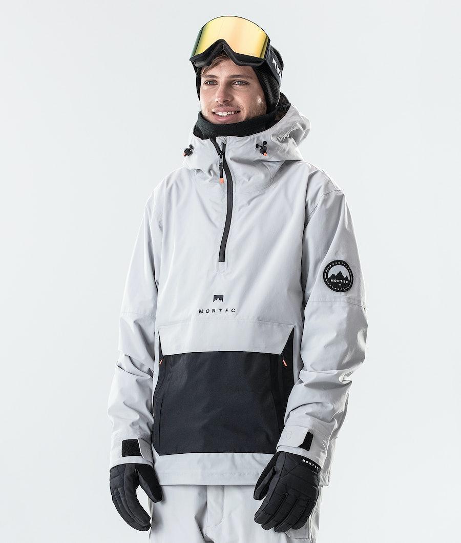 Montec Typhoon Snowboard Jacket Light Grey/Black