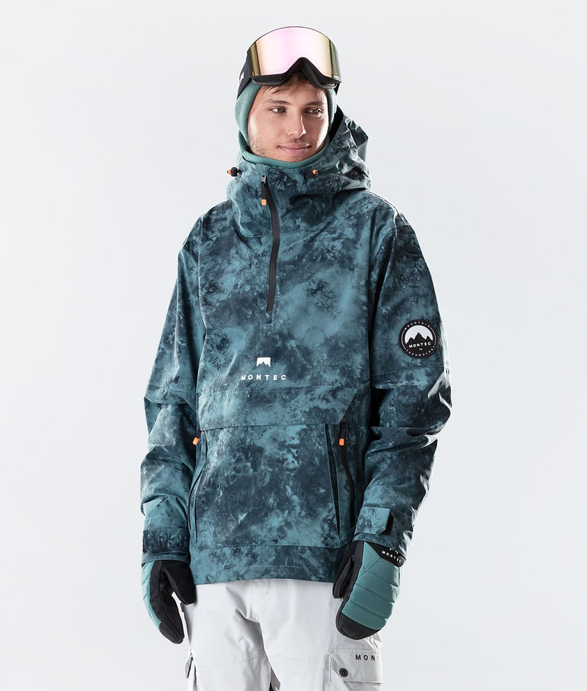 Montec Typhoon Snowboard Jacket Atlantic Tiedye