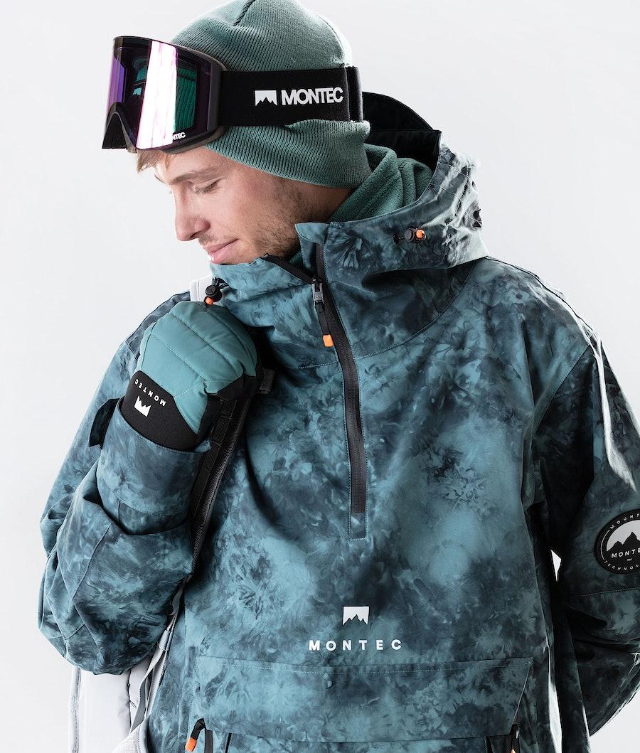 Montec Typhoon Snowboard jas Atlantic Tiedye