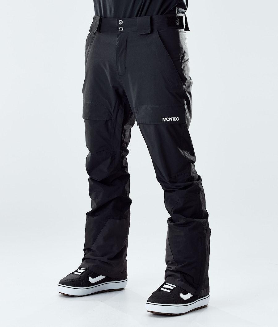 Montec Dune Pantalon de Snowboard Black