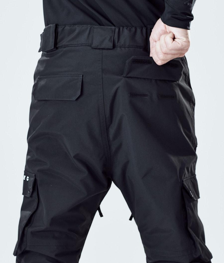 Montec Doom Pantalon de Snowboard Black