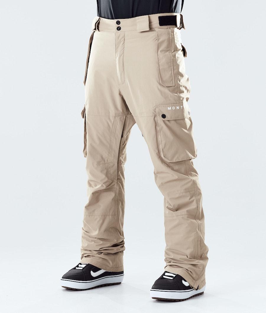 Montec Doom Pantalon de Snowboard Khaki