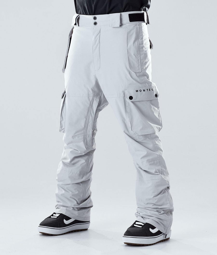 Montec Doom Pantalon de Snowboard Light Grey