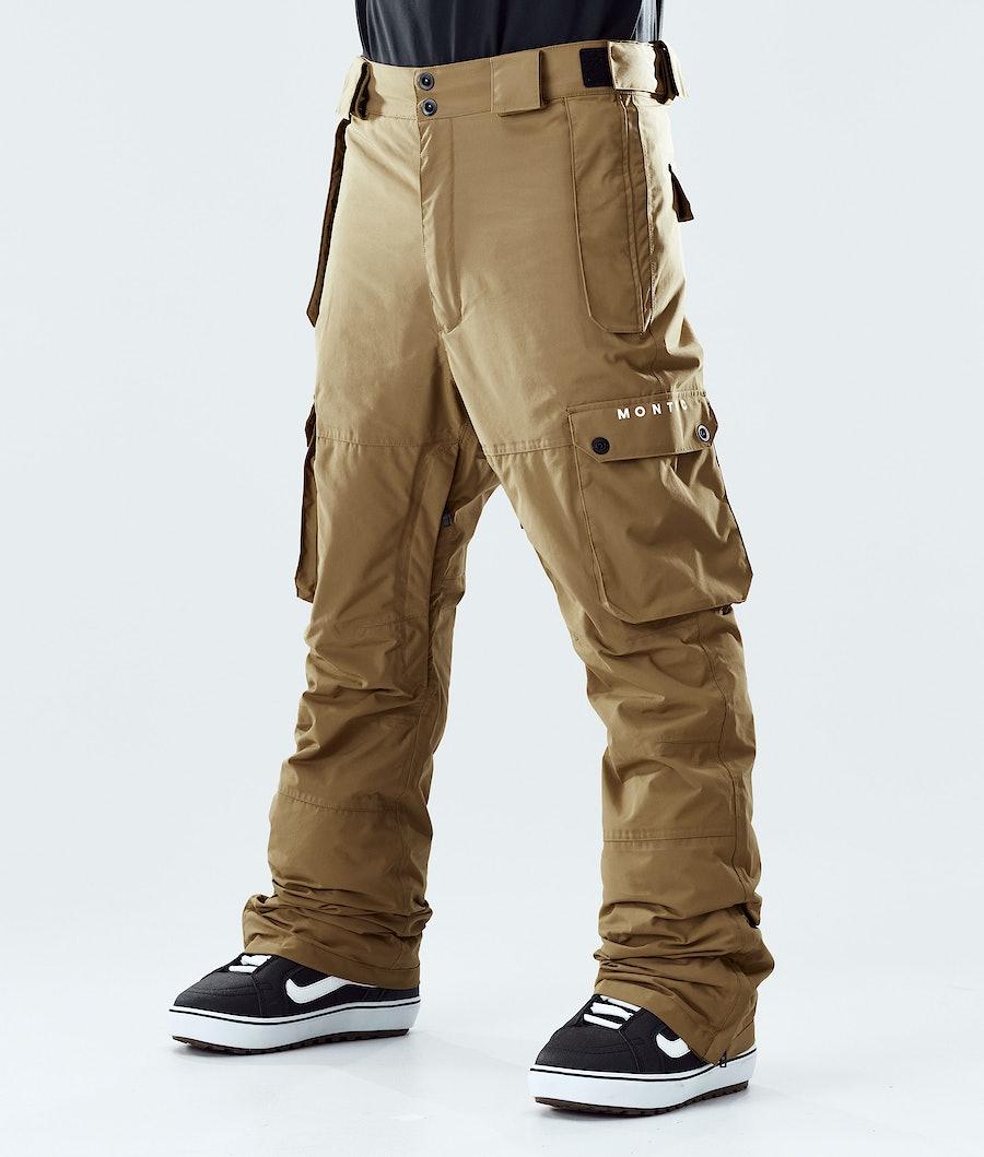 Montec Doom Pantalon de Snowboard Gold
