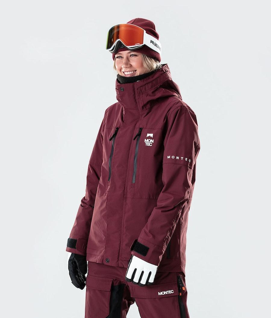 Montec Fawk W Snowboard jas Burgundy