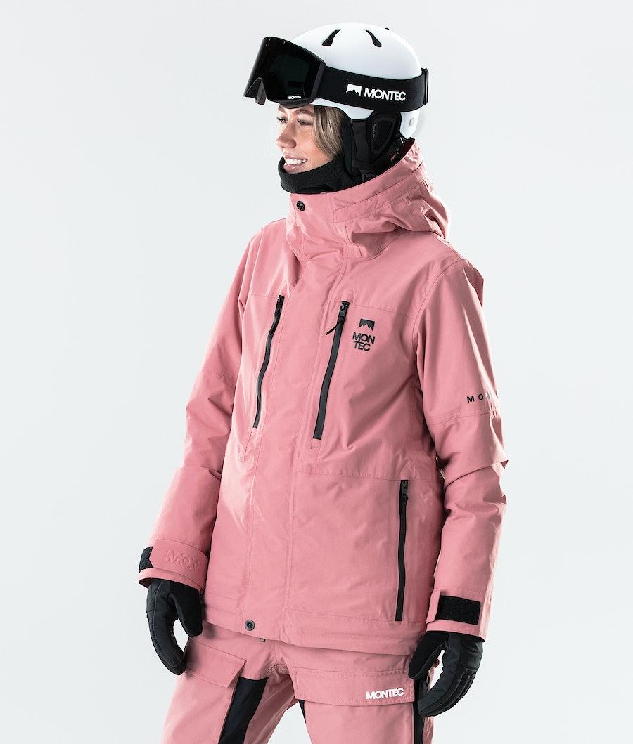 Montec Fawk W Lumilautailutakki Pink