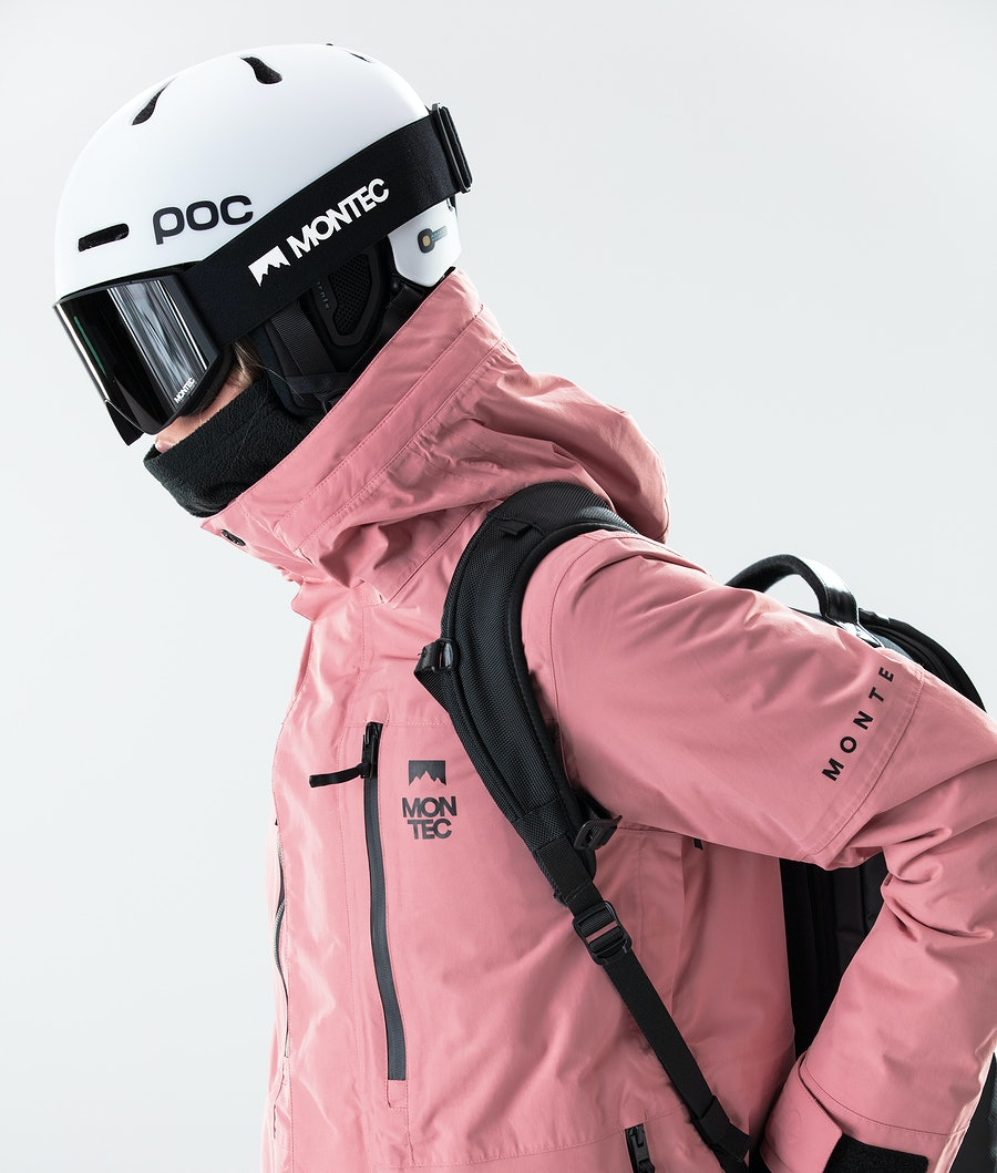 Montec Fawk W Veste de Snowboard Femme Pink
