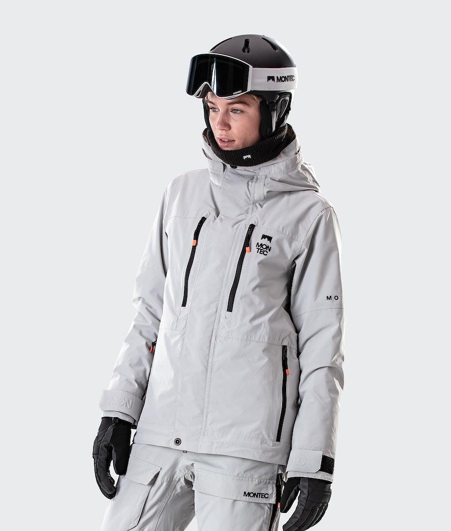 Montec Fawk W Veste de Snowboard Light Grey