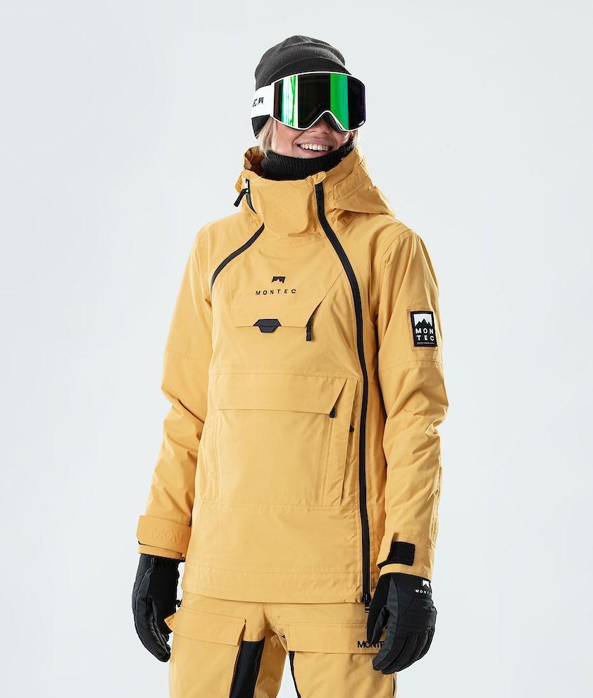Montec Doom W Snowboard Jacket Yellow