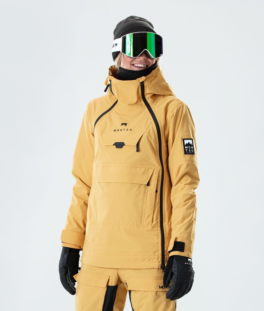 Montec Doom W Snowboard Jacket Yellow