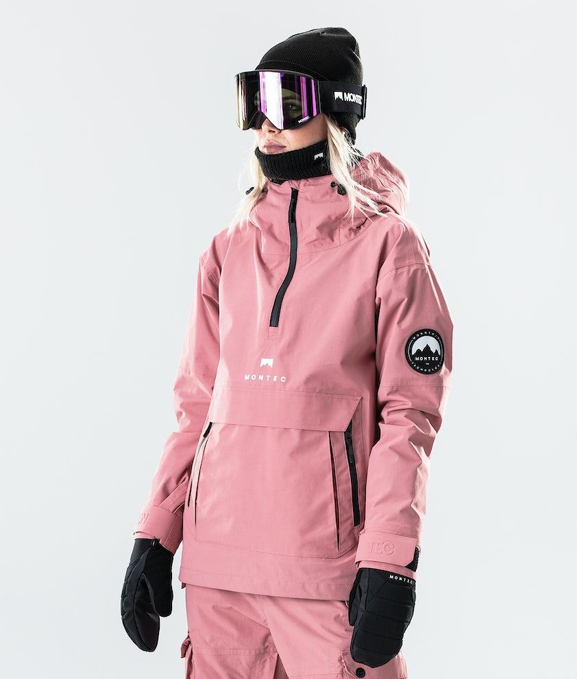 Montec Typhoon W Snowboard Jacket Pink