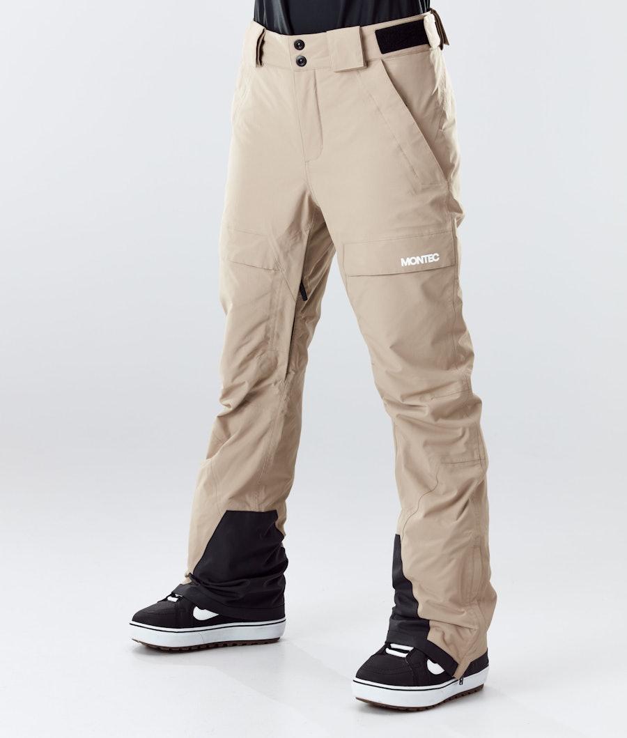Montec Dune W Pantalon de Snowboard Khaki