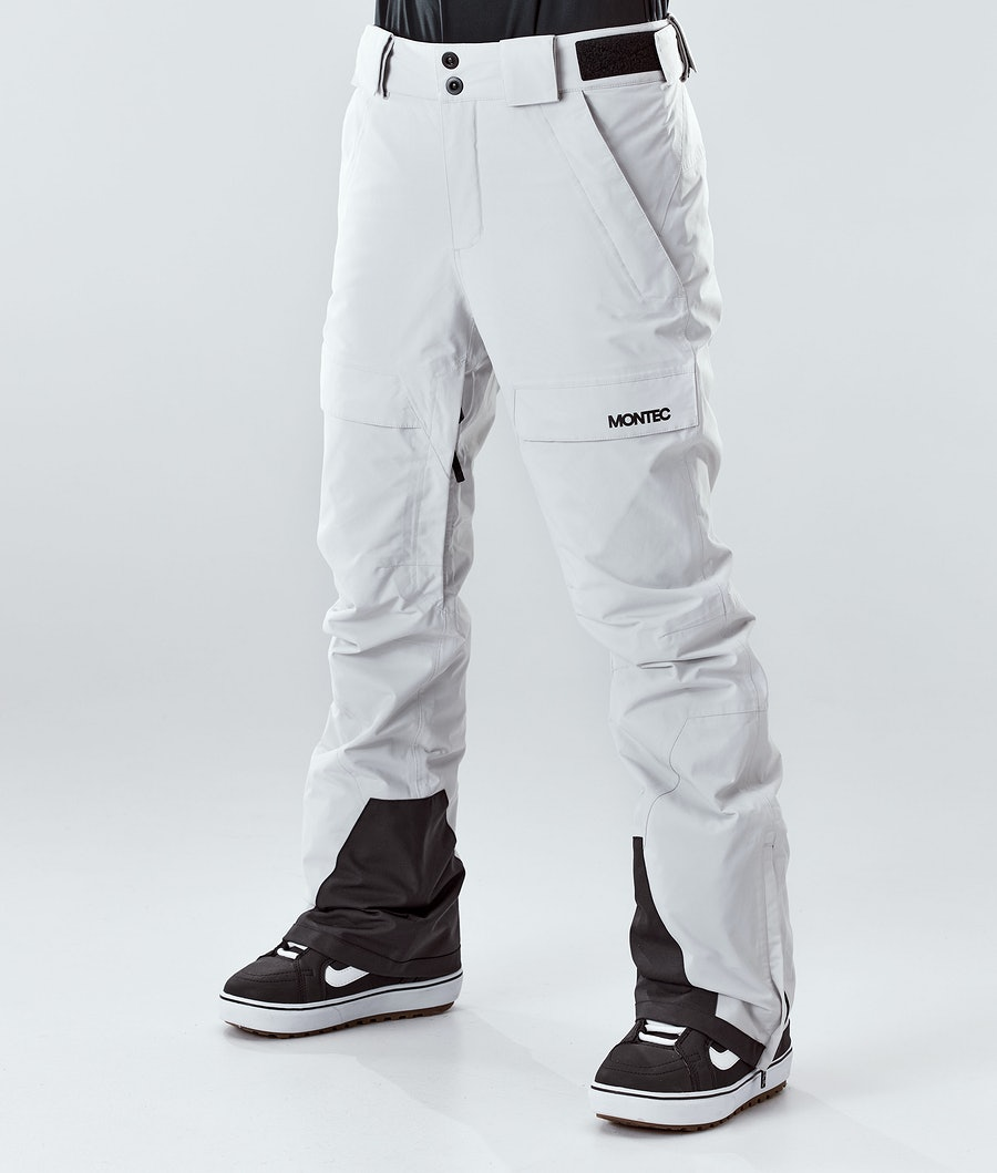 Montec Dune W Snowboardhose Light Grey