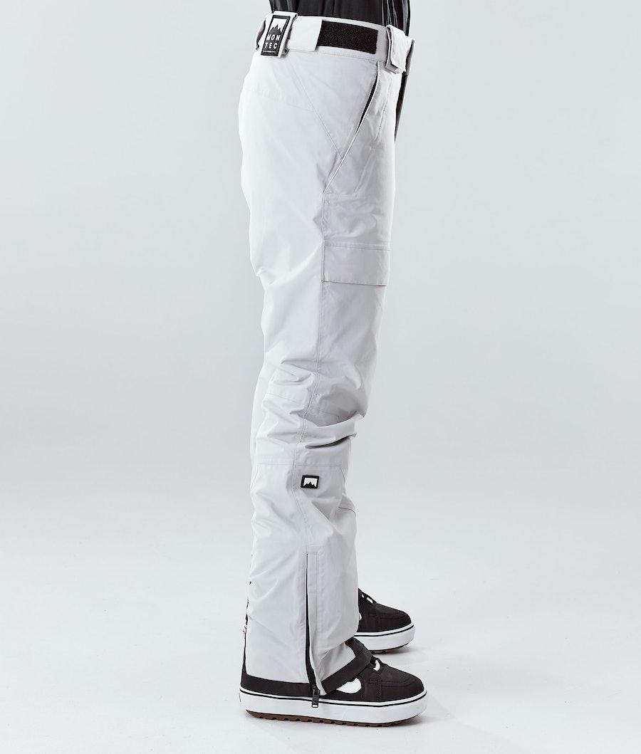 Montec Dune W Women's Snowboard Pants Light Grey