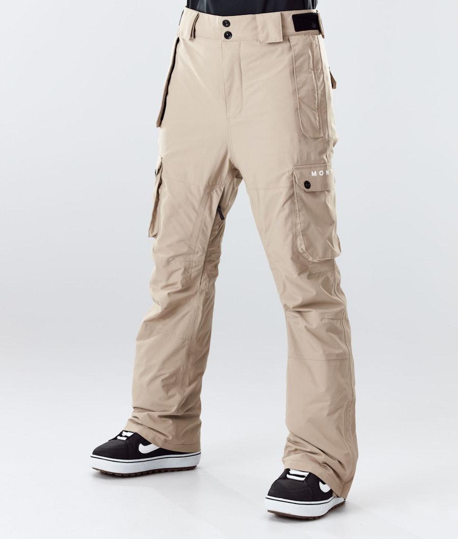 Montec Doom W Pantaloni da Snowboard Khaki