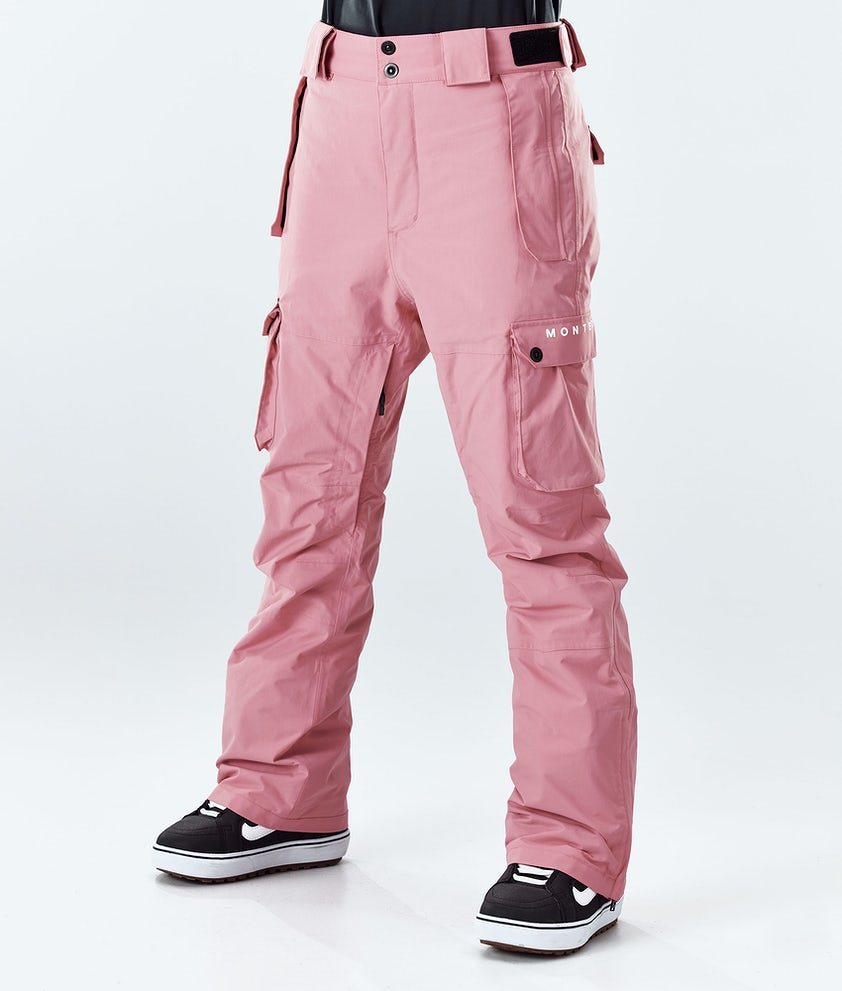 Montec Doom W Snowboard Pants Pink