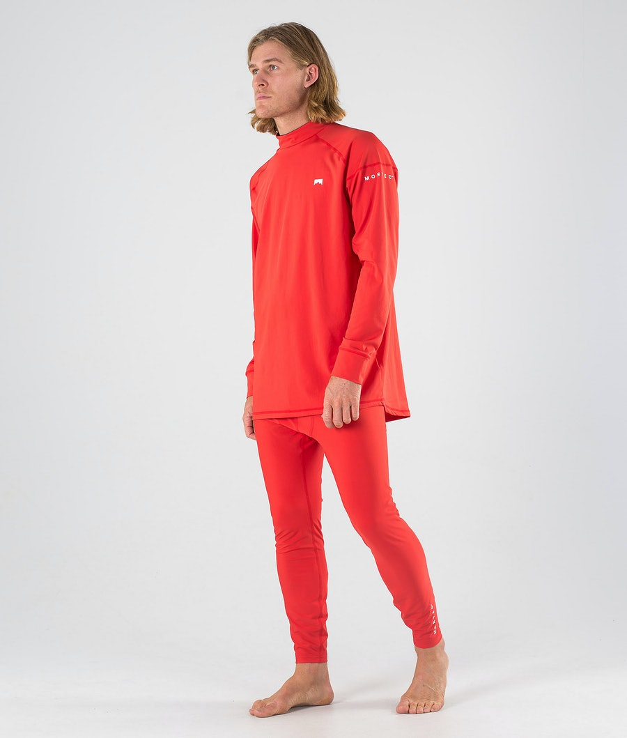 Montec Zulu Base Layer Top Red