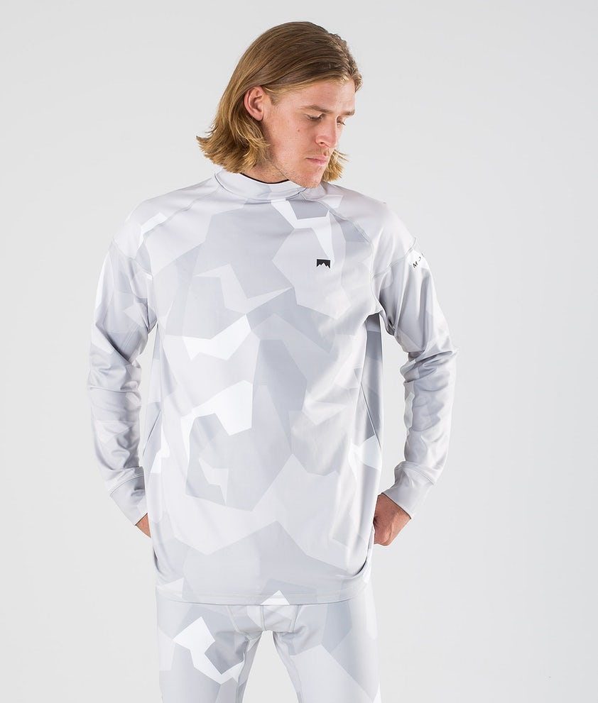 Montec Zulu Base Layer Top Snow Camo