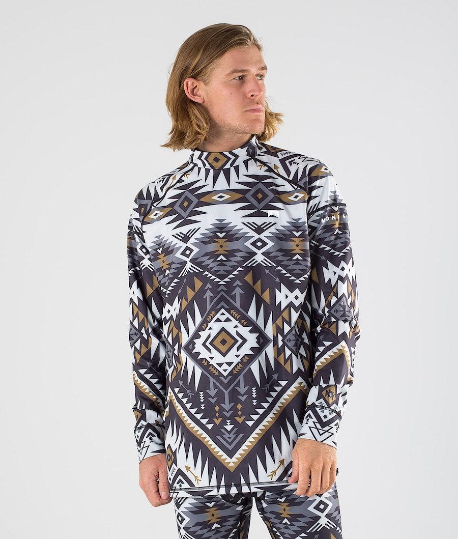 Montec Zulu Tee-shirt thermique Komber Gold